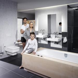 Optymalne rozwiązanie dla każdego: na rynku są już dostępne produkty łazienkowe, pozwalające zaspokoić indywidualne potrzeby wszystkich użytkowników.  Fot. Viega