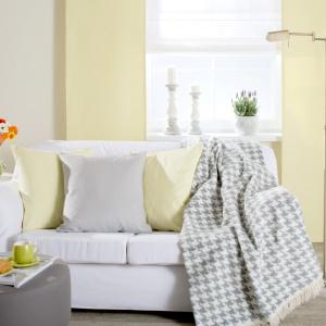 Pokrowiec na sofę, panele z kolekcji Cotton Panama Dekoria. Fot. Dekoria.pl