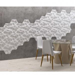 """Detale """"CORAL"""" do kreatywnej dekoracji ścian zaprojektowane przez Maca Stopę. Fot. Akademia Sztukaterii"""