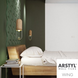 """Detale """"WING"""" do kreatywnej dekoracji ścian zaprojektowane przez Maca Stopę. Fot. Akademia Sztukaterii"""