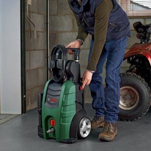 Myjki wysokociśnieniowe Bosch to ogromna paleta produktów – od mniejszych, najbardziej ergonomicznych, do tych profesjonalnych posiadających największą moc. Fot. Bosch