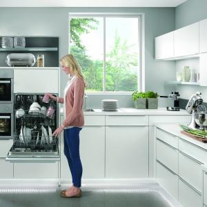Ergonomiczne rozmieszczenie sprzętow kuchennych. Fot. Nobilia