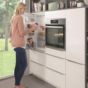 Ergonomiczne rozmieszczenie sprzętów w kuchni. Fot. Nobilia