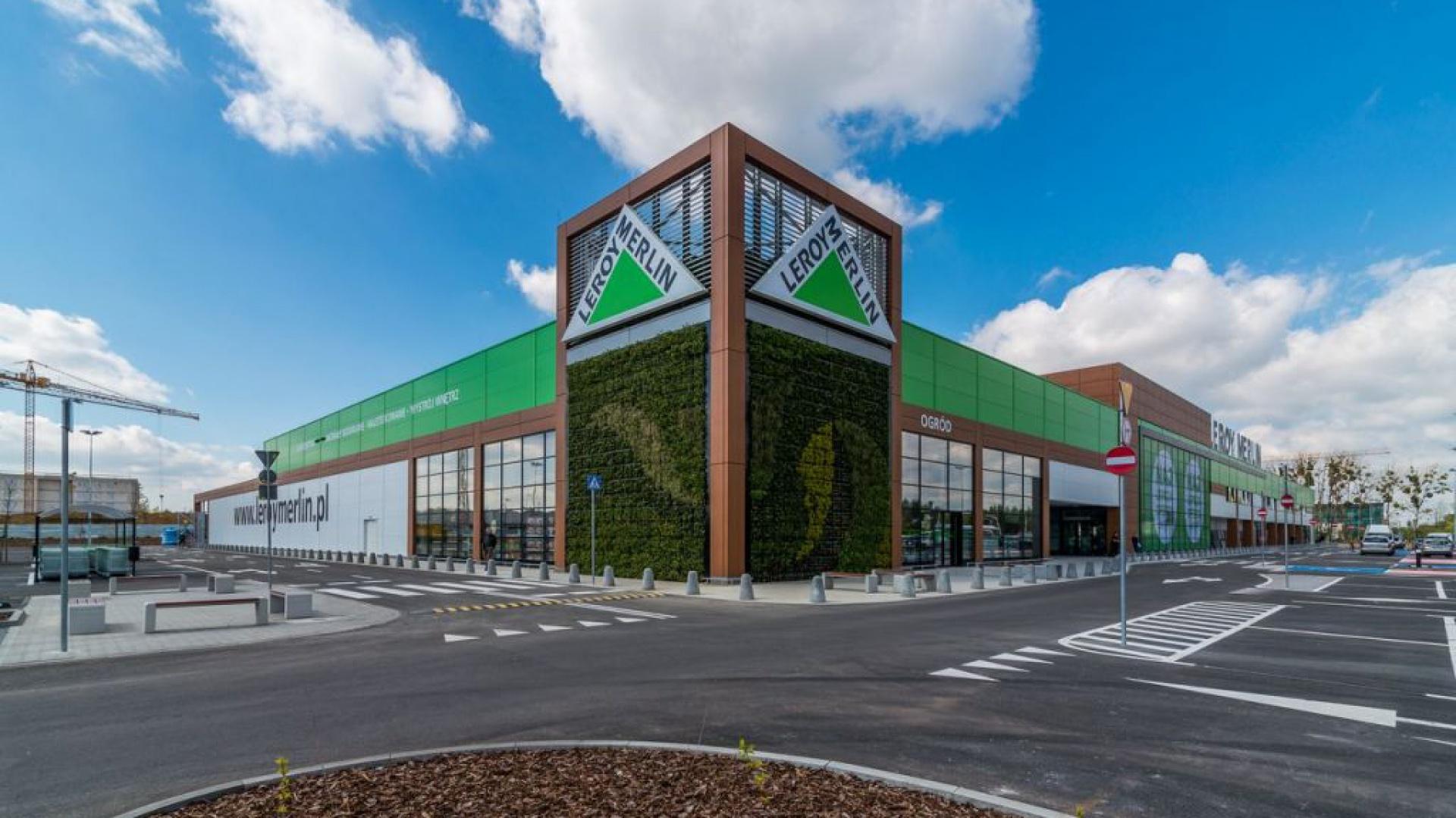 Drugi sklep Leroy Merlin zlokalizowany przy ul. Granicznej to nowe miejsce na mapie Wrocławia dla realizacji potrzeb związanych z domem i ogrodem. Fot. Leroy Merlin