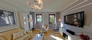 Salon w domu w Izabelinie