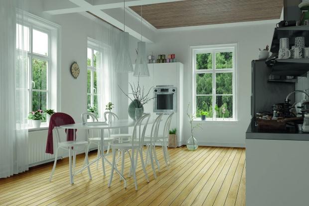 Nowość na podłogi - panele laminowane w macie