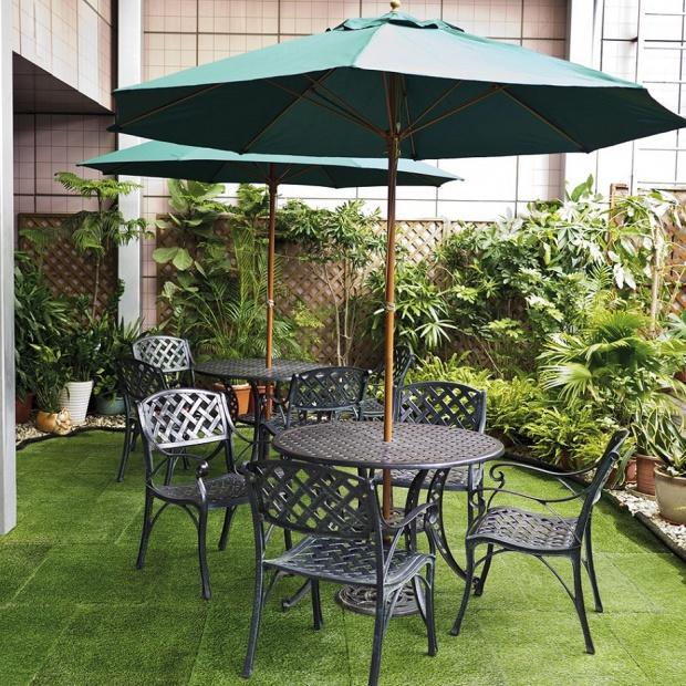 Wiosenny ogród - sposób na zadbany trawnik