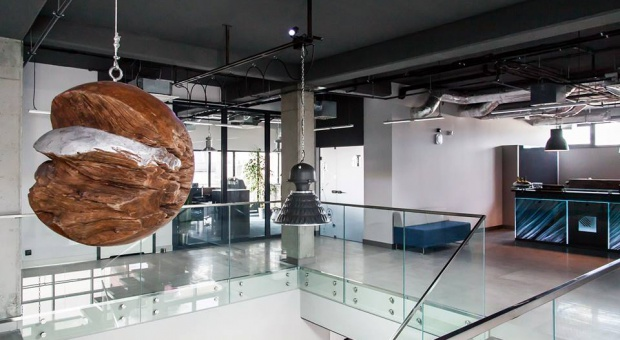 Industrialny biurowiec w sercu Poznania