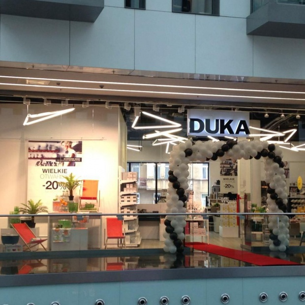 DUKA otwiera nowy sklep w Warszawie