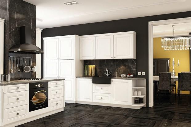 Szafki w klasycznym stylu - zobacz zabudowy kuchenne