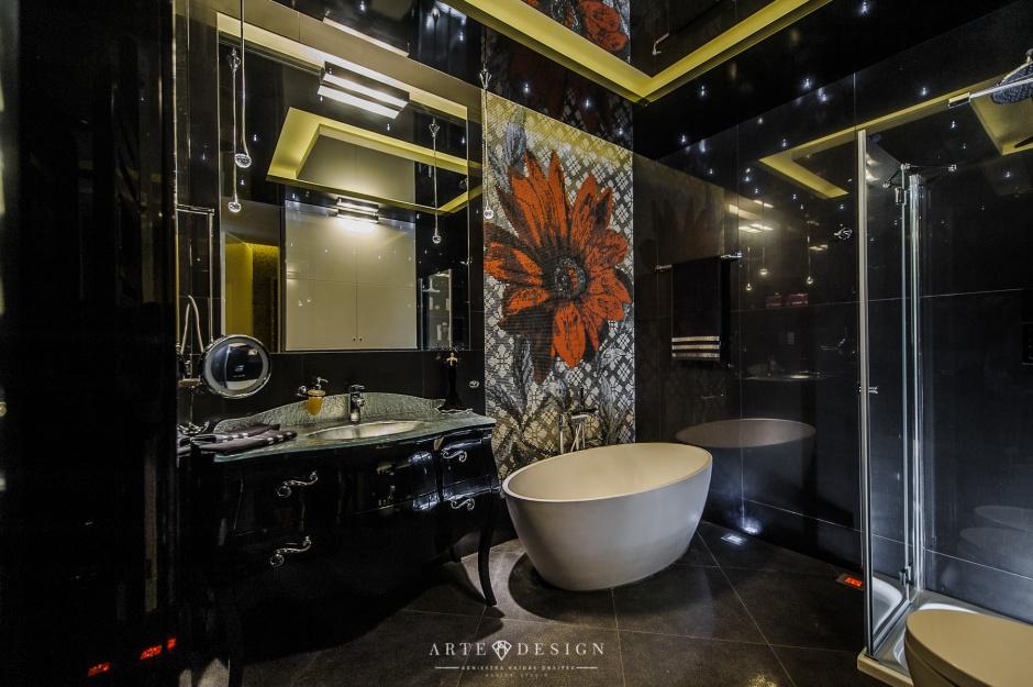 Realizacja Architekta łazienka W Stylu Francuskim