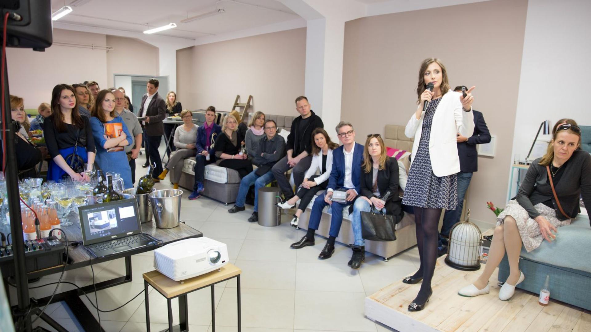 W spotkaniu wzięło udział kilkadziesiąt osób związanych z branżą projektowania wnętrz. Fot. Materiały prasowe