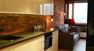 Nasz ekspert przedstawia dwa pomysły na aranżację małej kuchni w kamienicy zproblematycznym piecem.