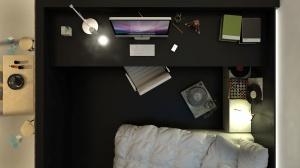 Antresola jest miejscem do pracy oraz sypialniÄ….