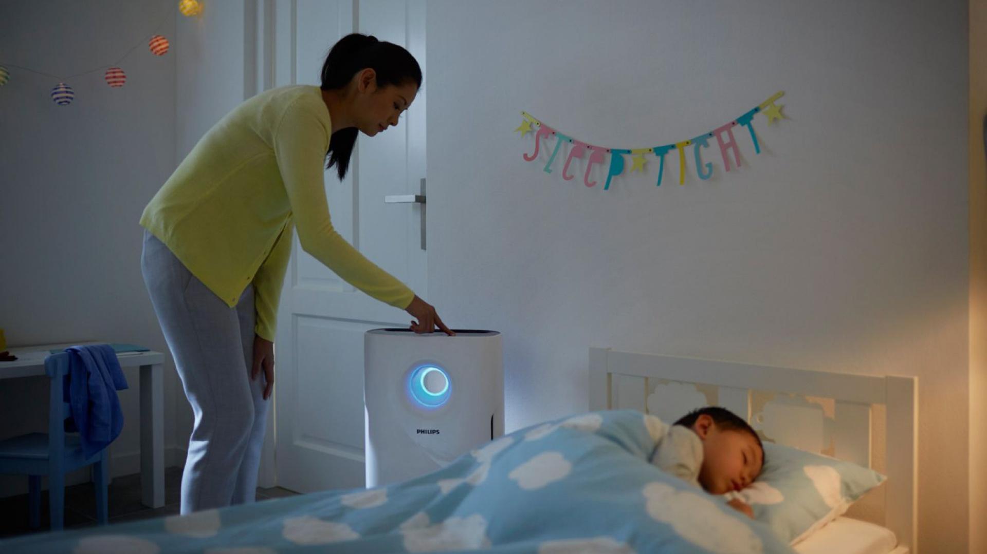 Czyste powietrze to zdrowe powietrze - szczególnie ważne w mieszkaniach alergików. Fot. Philips