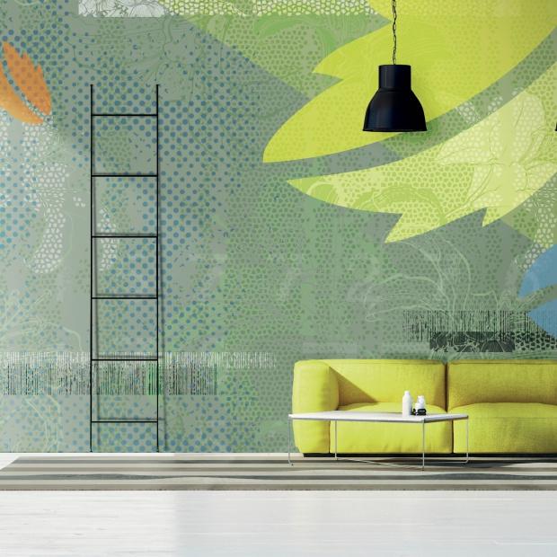Modna ściana: tapety zaprojektowane przez legendy designu