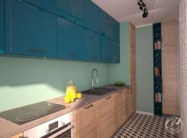 Aby we wnętrzu kolorowej kuchni zachować harmonię i spójność kolorystyczną, do jej aranżacji trzeba podejść niezwykle starannie.