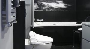 Łazienka jest przykładem, jak na małym metrażu stworzyć domową oazę SPA. Tutaj można się zaszyć, z dala od codziennych spraw pozostawionych za progiem. Skorzystać z hydromasażu w wannie.