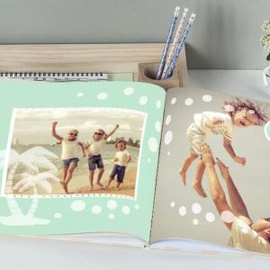 Zaprojektowana przez całą rodzinę fotoksiążka ze wspólnymi zdjęciami to  dobry pretekst do sprawdzenia swoich sił w DIY. Fot. Empikfoto.pl