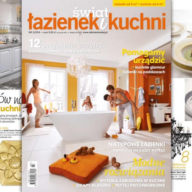 Świat Łazienek i Kuchni – nowy numer już w sprzedaży!