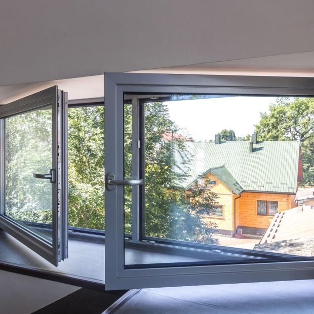 Dom energooszczędny: wybierz aluminiową stolarkę