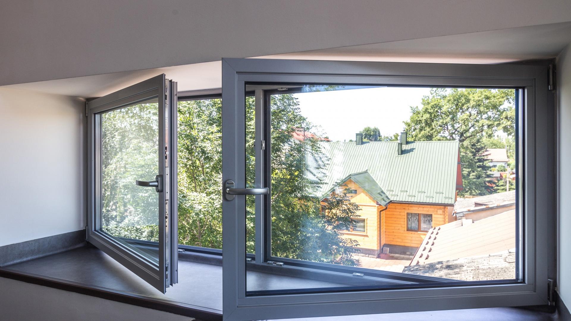 Okno aluminiowe. Fot. Dako