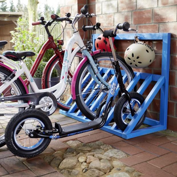 Zrób to sam: praktyczny stojak na rower