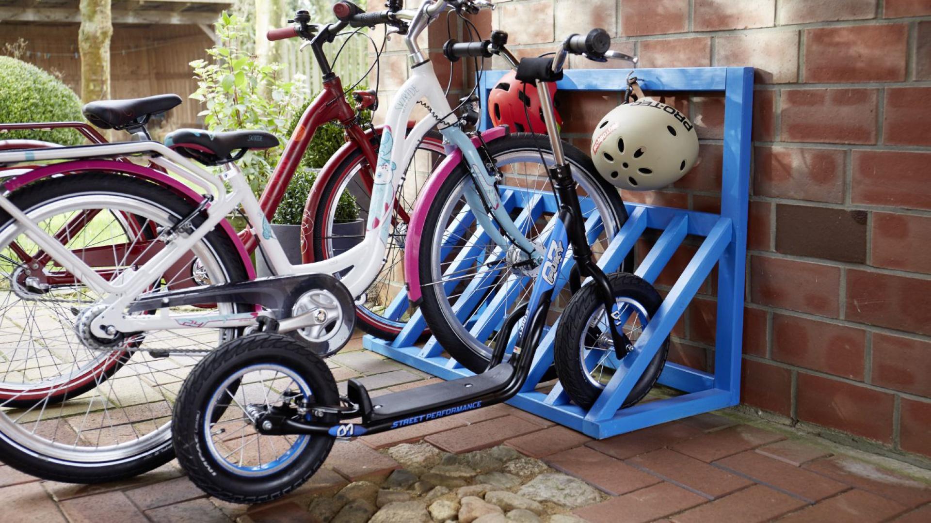Stojak na rower to idealne rozwiązanie dla miłośników rowerowych wycieczek. Polubią go również odwiedzający nas goście-rowerzyści. Fot. Bosch
