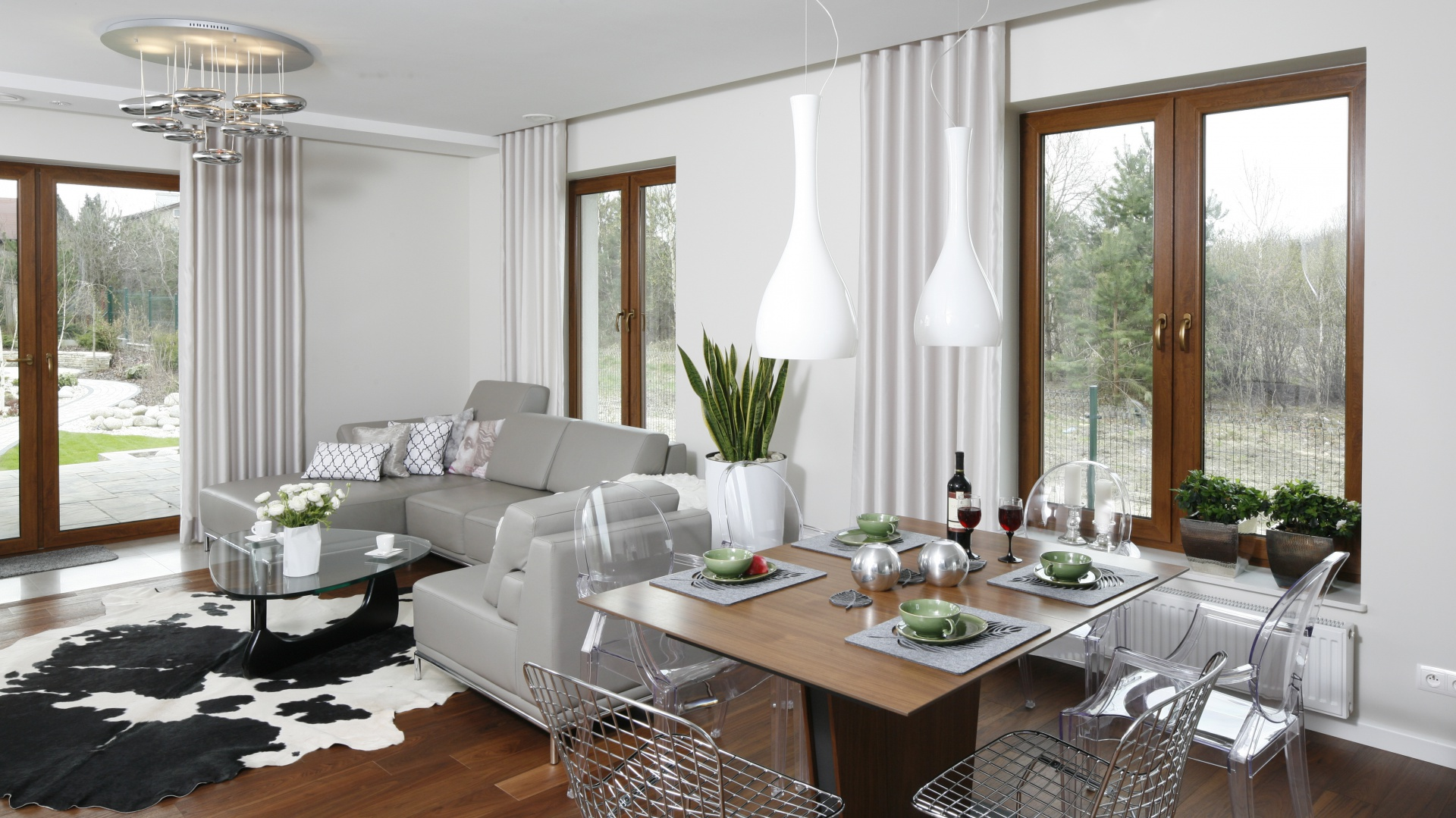 Salon Z Jadalnią Zobacz Najlepsze Pomysły Architektów