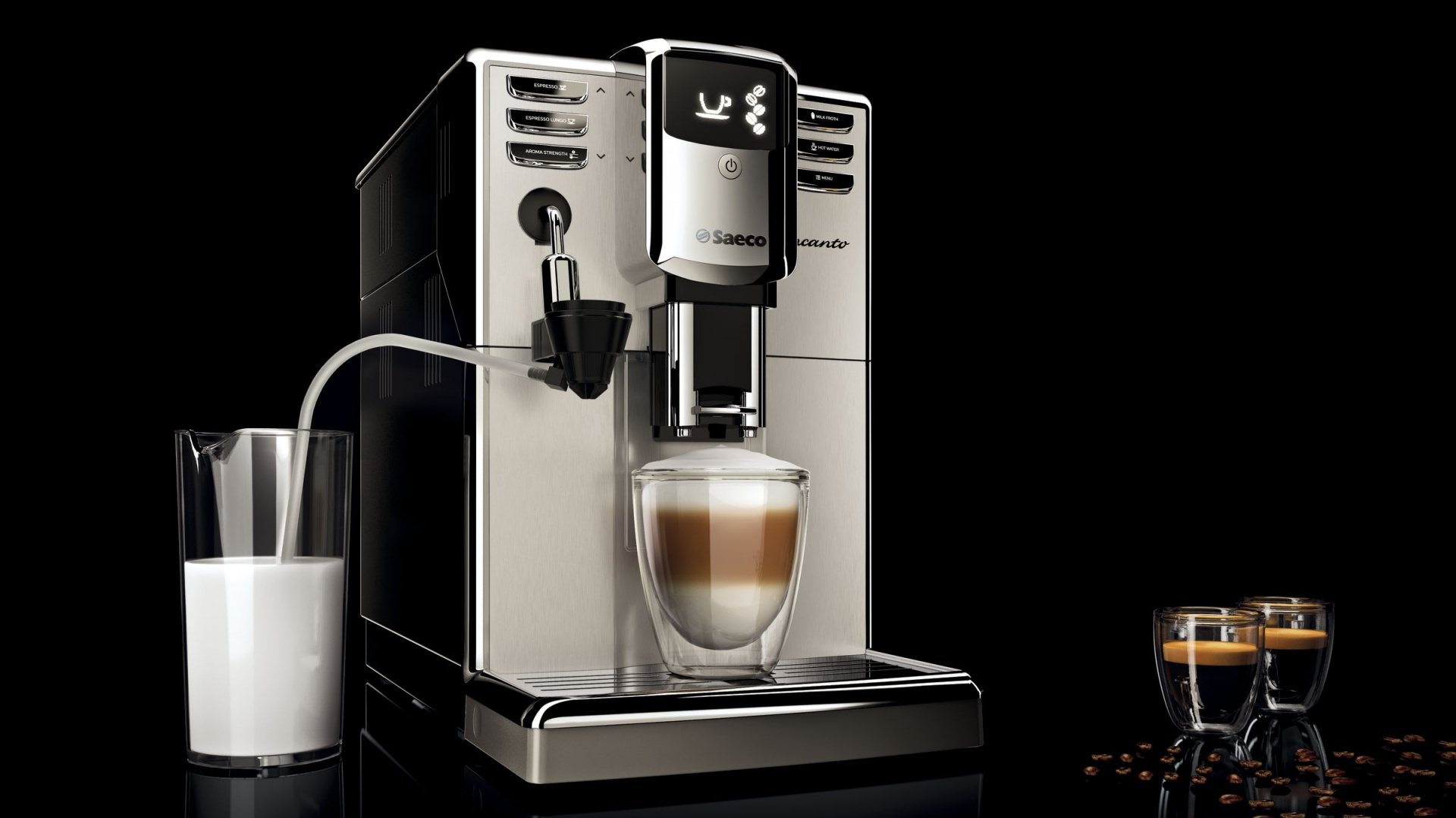 9d212c6bee22 Ekspres do kawy Saeco Incanto One Touch Milk Carafe HD8917 09 sprawi