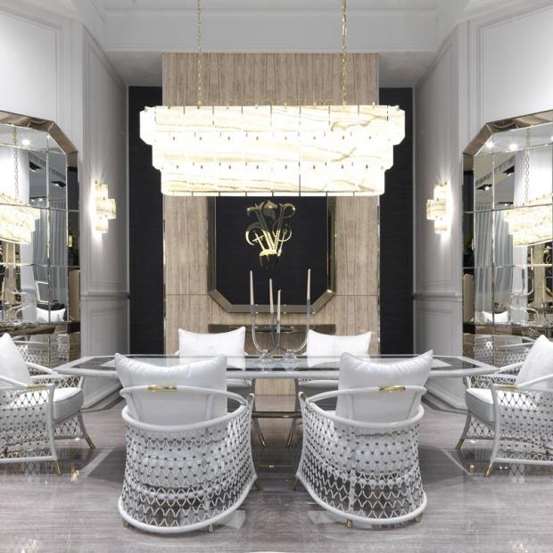 Eleganckie wnętrze: nowa kolekcja ekskluzywnych mebli
