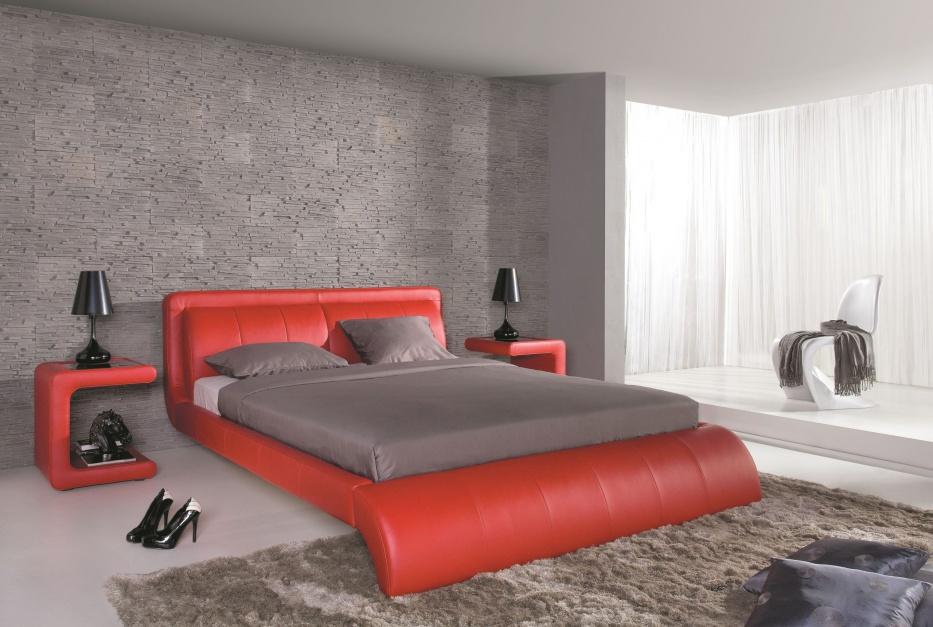 Łoże tapicerowane Trevi...  Nowoczesna sypialnia – wybieramy łóżka tapicerowane