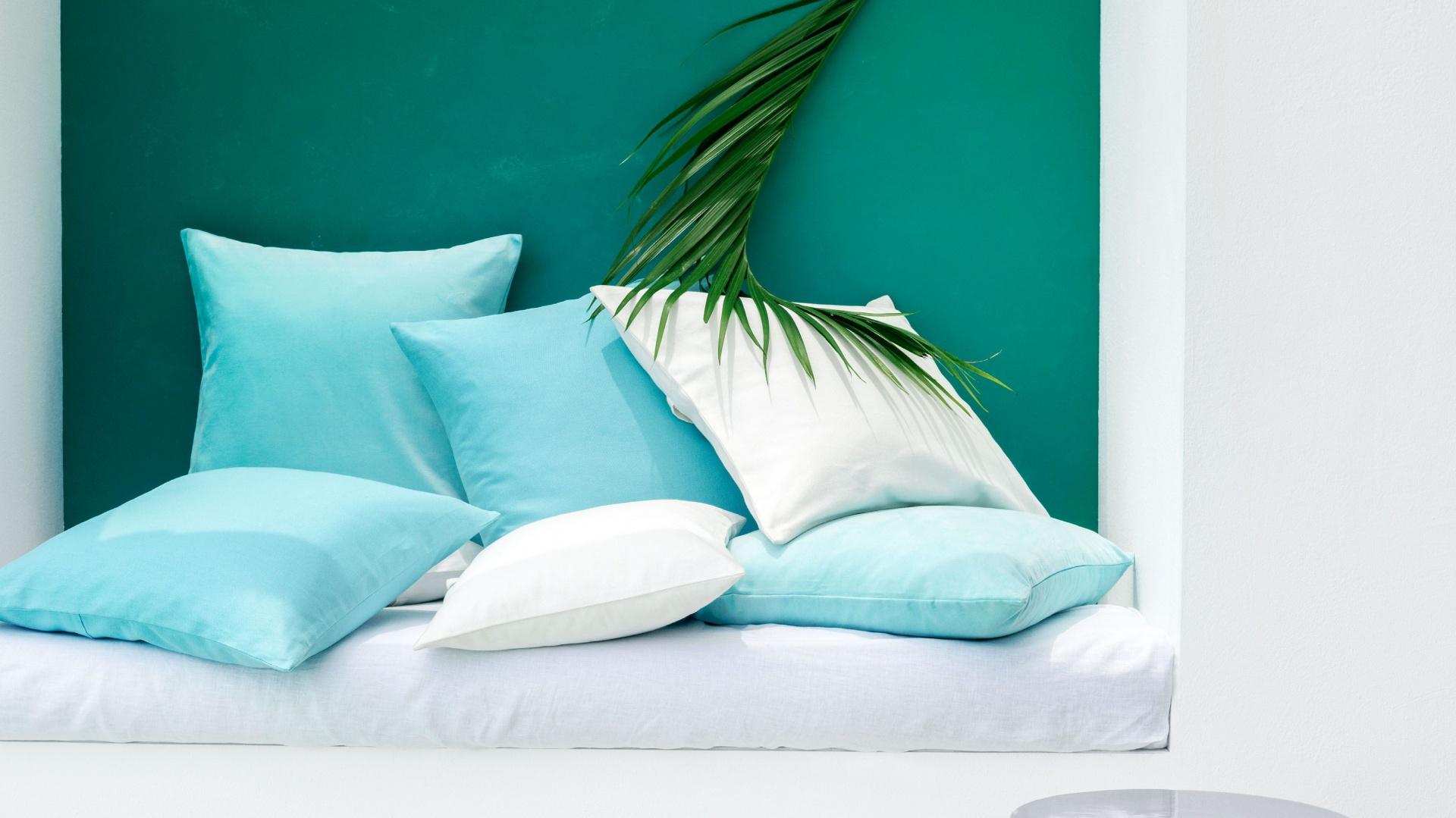 Tekstylia Na Lato Kolorowe Poduszki