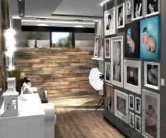 Projekt studia fotograficznego w Bielsku-Białej