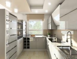 Kuchnia jasna, nowoczesna i praktyczna
