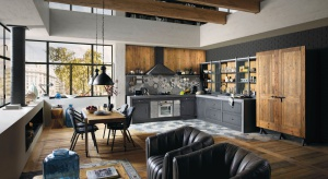 Kuchnie w stylu loft cieszą się dużą popularnością. Dziś mamy dla Was piękny i gustowny projekt prosto z targów EuroCucina.