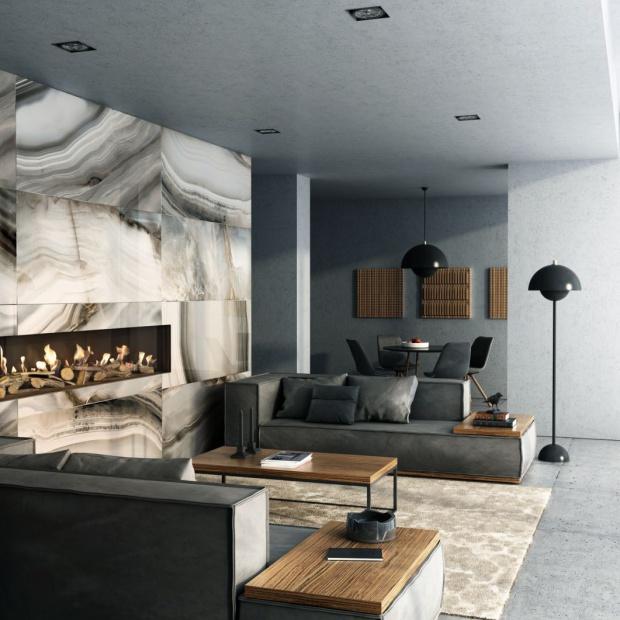 Nowoczesny kominek: zobacz model z panoramicznym paleniskiem