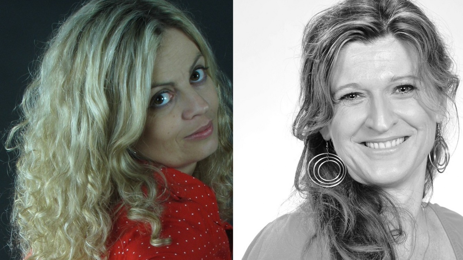 Agata Balińska z pracowni Balińska Wnętrza oraz Gosia Goś z pracowni GG-Design. Fot. Archiwum projektantek