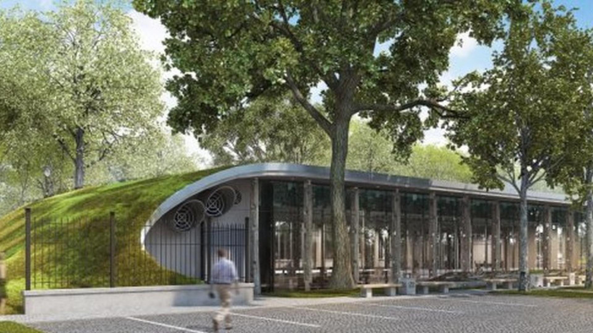Materiały takie jak beton i szkło oraz wpadające do wnętrza światło pozwolą stworzyć unikatowy charakter nowej siedziby DESA Unicum i podkreślą lekkość konstrukcji. Fot. Materiały prasowe