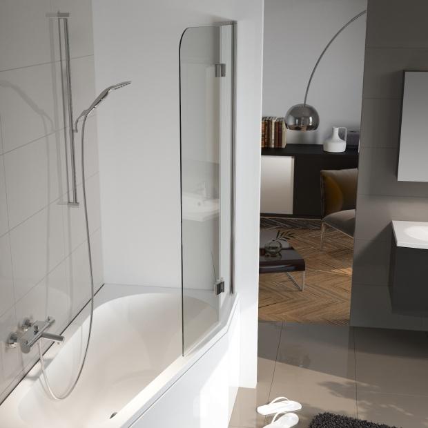 Mała łazienka: sposób na prysznic