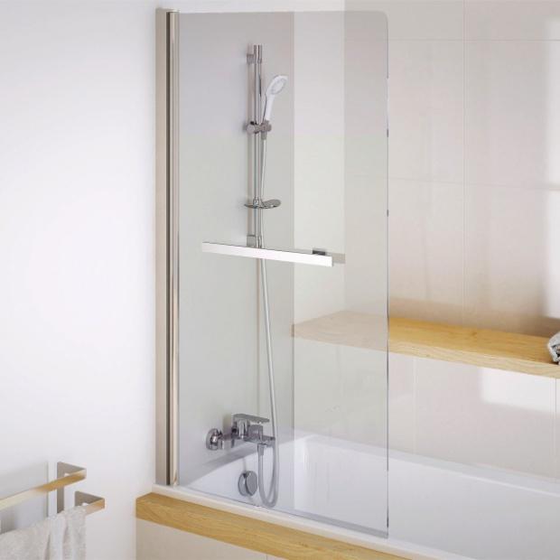 Parawany nawannowe: modne modele do małej łazienki
