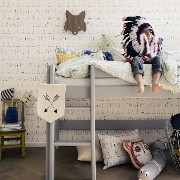 Szybka metamorfoza pokoju dziecka: postaw na modne tapety