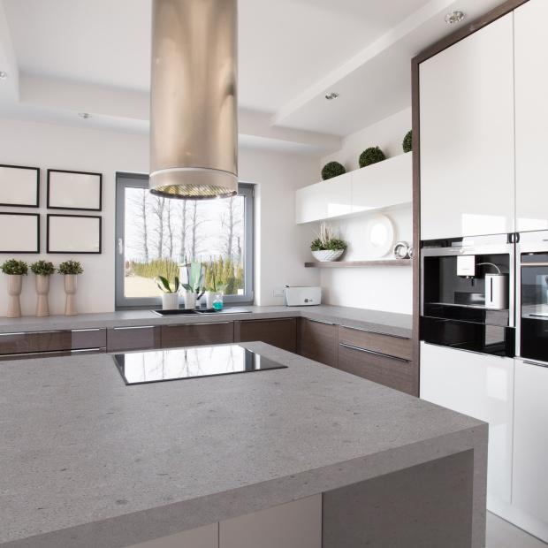 Blat kuchenny: wybierz konglomerat jak beton