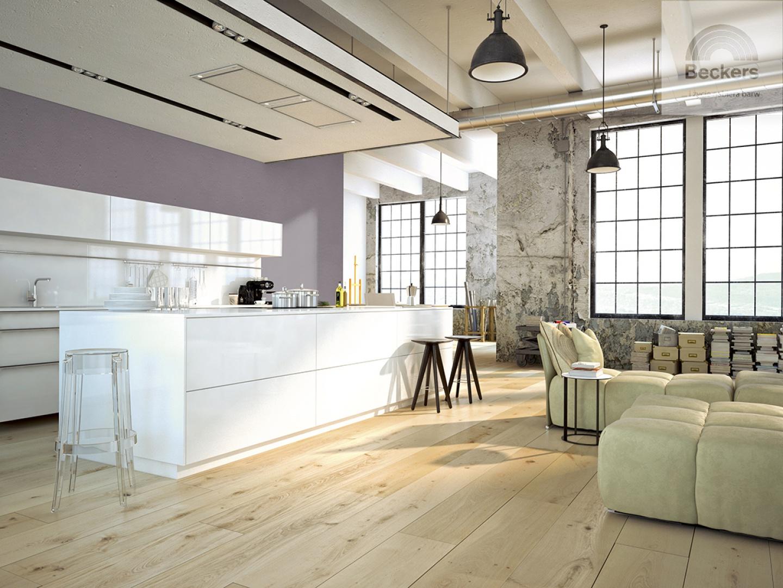Beckers Designer Colour, Mountain Charm i Beckers Designer White.