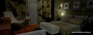 Elegancki pokój hotelowy