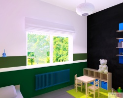 Konkursowy pokój dziecięcy