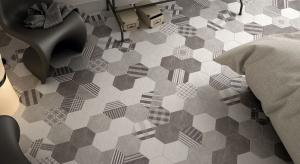 Sześciokąt - z pozoru zwykła figura geometryczna, jednak przekuta w płytkę ceramiczną staje się niezwykłym elementem aranżacyjnym. Zobaczcie modne kolekcje płytek heksagonalnych.