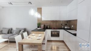 Nowoczesne i minimalistyczne mieszkanie