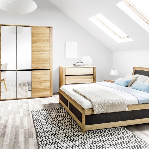 Meble do sypialni: nowa kolekcja w skandynawskim stylu