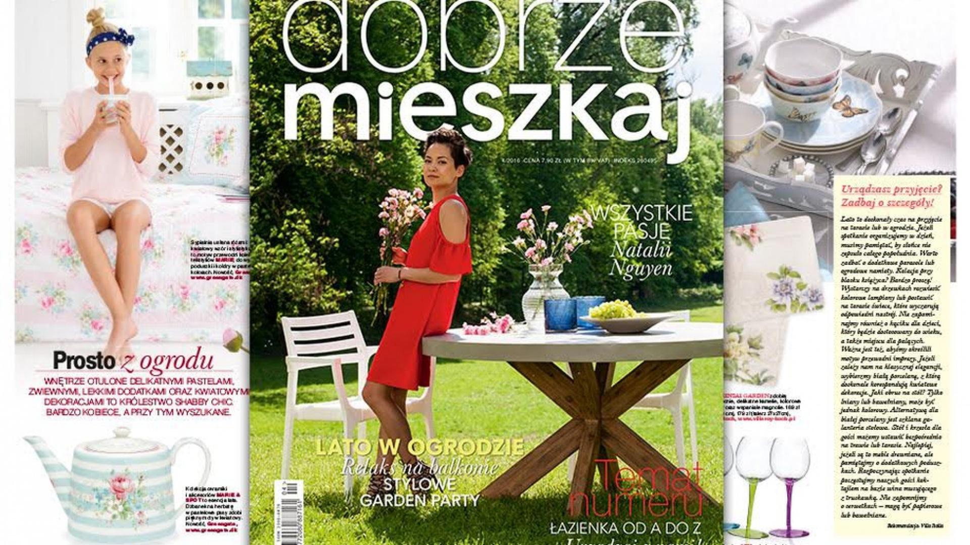"""Nowa odsłona magazynu """"Dobrze Mieszkaj"""" to także odświeżony, nowoczesny, pełen kolorów layout, podkreślający urodę prezentowanych aranżacji wnętrz i pozwalający w pełni pokazać ich projektowy potencjał."""